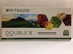 Nutrilite Double X Quality Supplements Vitamin Mineral and Phytonutrient 31 Days Supply with Tray Shipped from USA * Check this awesome product by going to the affiliate link Amazon.com at the image.