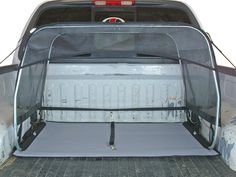 How To Strap A Dog Kennel In Truck Bed