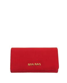 Mia Bag portafoglio lettering rosso. www.caterinaformentini.it