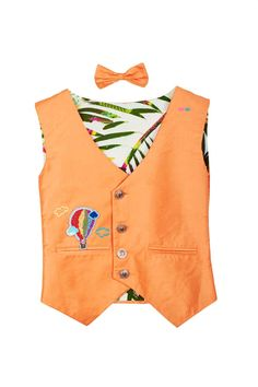 Stylemylo offers a wide range of Nehru Jackets for boys, Designer Nehru Jackets, Waistcoats for boys, Designer waistcoats for your little one. Call at 9599342065 for more info. First Birthday Dresses, Waist Coat, Kids Frocks Design, Nehru Jackets, Frock Design, Orange Fabric, Hot Air Balloon, Fashion Branding, Kids Wear