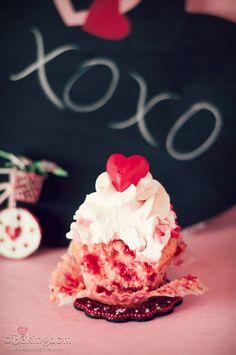 Cherry Chip Cupcakes