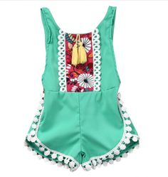 Cheap rompers rompers, Buy Quality one-piece jumpsuit directly from China baby clothes Suppliers: Baby National Clothes Girls Sleeveless Tassels Romper Backless Jumpsuit Outfits Sunsuit One-Piece Clothes Jumpsuits fit Backless Jumpsuit, Jumpsuit Outfit, Lace Jumpsuit, Sleeveless Outfit, Floral Jumpsuit, Jumpsuits For Girls, Girls Rompers, Girls Playsuit, Kids Brand