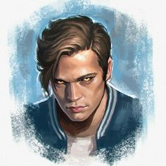 Jack Kline from Supernatural Supernatural Imagines, Supernatural Drawings, Supernatural Tattoo, Supernatural Fan Art, Supernatural Wallpaper, Supernatural Bloopers, Destiel, Movies And Series, Winchester Brothers