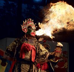 VII Chinese Dancer ~ Transformed by Fire