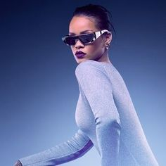 """Rihanna has collaborated with Dior on a new sunglassess collection, simply entitled, Rihanna. The pop diva, who is already a brand ambassador for the French fashion house, features in a series of visuals photographed by Jean Baptiste Mondino showcasing the futuristic-inspired collection.  The """"Rihanna"""" will be available in six variations here in Singapore. The silver, green, blue, pink, and red styles will retail for S$1,300, and a deluxe, 24-karat gold-plated version for S$3,000"""