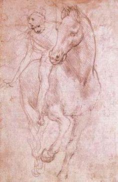 Leonardo Da Vinci - Horse and Rider