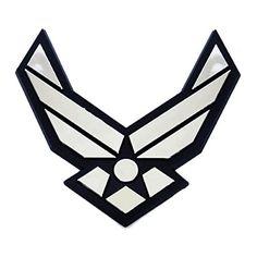 Jenkins Enterprises Air Force Mirror Lasercut Logo Shot Glass