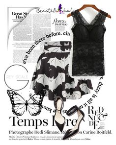 """""""Beautifulhalo"""" by merima-g98 ❤ liked on Polyvore featuring WithChic, Hedi Slimane and 3.1 Phillip Lim"""