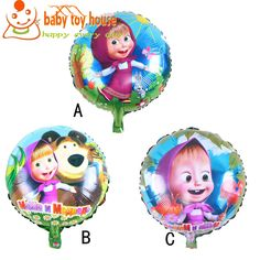 New Arrival Masha And Bear Balloon Decoration Foil Balloon Classic Inflatable Toys Martha and Bear Balloons For Children //Price: $US $0.63 & FREE Shipping // #onlineshopping #nadmartonline #shopnow #shoponline #buynow