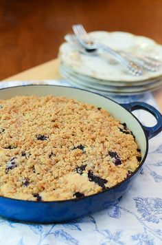 Blueberry Crumb Cake-058.jpg by From Valerie's Kitchen, via Flickr