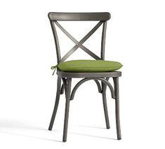 Bistro Chair Cushion, Sunbrella(R) Peridot