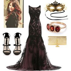 Tiger's Outfit for the Masquerade Ball by little-biancaaa on Polyvore featuring polyvore, fashion, style, Masquerade, Forever New, Yves Saint Laurent and Arik Kastan