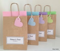 Children's Personalised Wedding Activity Pack & Matching Gift Bag Favour Vintage Style Dotty - Hochzeit Childrens Wedding Activity Packs, Wedding Activities, Creative Gift Wrapping, Creative Gifts, Personalized Favors, Personalized Wedding, Decorated Gift Bags, Paper Packaging, Packaging Ideas