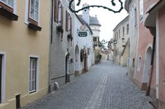 Durstein, Austria. King Richard the Lionhearthed was held captive here.