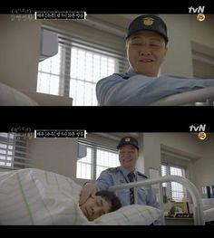 """[Spoiler] """"Prison Playbook"""" Jung Woong-in Praises Lee Kyu-hyung"""