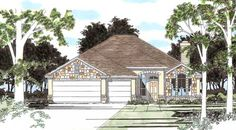 The Marble Falls House Plan - 5407