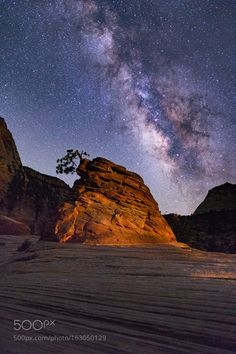 Broken Branches  I finally got the Sagittarius end of the milky way positioned behind this hoodoo. A passing car provided a bit of light at just the right time and the shot you see here was the result. Prints available from http://ift.tt/29IkrNU  Camera: Canon EOS 6D Lens: EF24-70mm f/2.8L II USM Focal Length: 24mm Shutter Speed: 30sec Aperture: f/2.8 ISO/Film: 6400  Image credit: http://ift.tt/2ae6bvg Visit http://ift.tt/1qPHad3 and read how to see the #MilkyWay  #Galaxy #Stars #Nightscape…