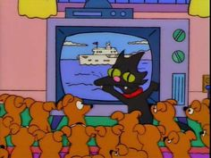 "Homer: ""GET THAT CAT OUT OF THE WAY!"""