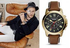 Zegarki marki Fossil cieszą się dużą popularnością. Nowy model nawiązuje do stylu vintage i świetnie prezentuje się na ręce.