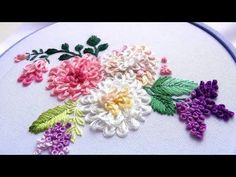 ВЫШИВКА: ГОРДИЕВ УЗЕЛ \ EMBROIDERY: GORDIAN KNOT - YouTube