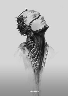 #robotics #cyborg #sci_fi #body_horror #wires #cyberpunk #art #graphic #future #robotics #cyborg #sci_fi #body_horror #wires #cyberpunk #art #graphic #future Fantasy • Destroy by LIGHT GYZJ
