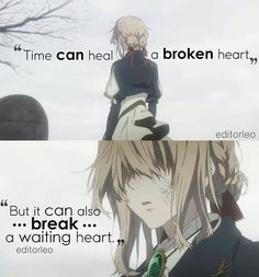 Violet Evergarden Anime Quotes Dont give up violet im sure gilbert still. Violet Evergarden Anime Quotes Dont give up violet im sure gilbert still live Please visit - Sad Anime Quotes, Manga Quotes, Anime Quotes About Life, Dark Quotes, Love Quotes, Inspirational Quotes, Quotes Quotes, Super Quotes, Anime Violet Evergarden