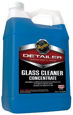 Meguiars D12001 Glass Cleaner Concentrate  1 Gallon * Continue to the product at the image link.