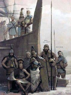 José Daniel Cabrera Peña - La Ilíada: héroes aqueos