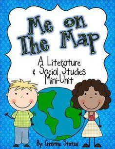 Me on the Map: A Literature & Social Studies Mini-Unit