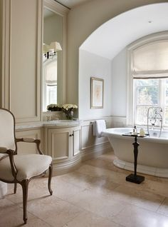 classic glamour in a bathroom