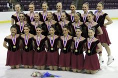 BU athletic training student Devon Wang competes in the synchronized skating world championships in Italy as part of the Boston-based Haydenettes. The Haydenettes are the most successful synchronized skating team in US history!