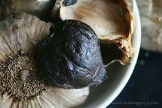 Aged Black Garlic is a black coloured garlic with low odour and provides Caruso's Aged Garlic with its numerous health promoting benefits. Find out more about Caruso's Aged Garlic at www.carusosnaturalhealth.com.au/aged-black-garlic Black Garlic, Food Photography, Stuffed Mushrooms, Vegetables, Health, Stuff Mushrooms, Health Care, Vegetable Recipes, Veggies