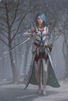 Fire Emblem: Radiant Dawn - Lucia