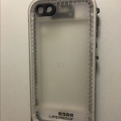 WHITE IPHONE 5C LIFEPROOF (BEST OFFER) Used once. Perfect condition. I got a new phone so that's why I'm selling it. Take pictures underwater, protects phone from cracking, ect. LifeProof Accessories Phone Cases