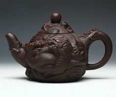 Jiu long xi zhu teapot; Chinese GongFu TeaPot, YiXing Pottery Handmade zisha teapot,Guaranteed 100% genuine original mineral fired, $365.00