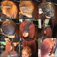 |TRANSFORMATION TUESDAY| Love thishealthy #bobcap weave method done by #ATLStylist @HairByHim✂️ Her hair is protected underneath and she can still wash it❤️ So clever #VoiceOfHair ======================== Go to VoiceOfHair.com =========================Find hairstyles and styling tips! =========================:
