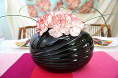 80s Deco floral arrangement