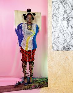 The African Queens: Namsa Leuba Plays With Fall's Best Knits - The Cut