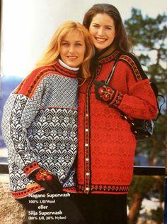 Gjestal Etnic Pattern, Norwegian Knitting, Fair Isle Knitting, Warm Sweaters, Getting Bored, Vintage Knitting, Hobbies And Crafts, Clothing Patterns, Knits