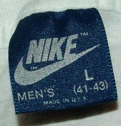 How to Identify Vintage Nike Clothing - InfoBarrel