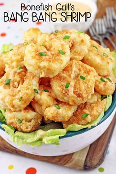 A copycat restaurant recipe for Bang Bang Shrimp. Breaded shrimp fried up all golden and crunchy then smothered in a spicy sauce and served over greens. It's all the rage. Having never been to Bonefish Grill where the shrimp originates I wouldn't know. Leading me to this. . .I have a seriously bad habit of …
