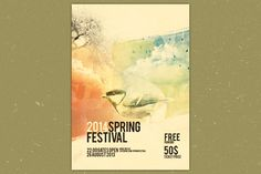 Check out Spring Festival flyer by Innotheme on Creative Market