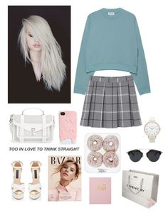 """""""Untitled #257"""" by shope-xo on Polyvore featuring KAROLINA, Acne Studios, Proenza Schouler, Monki, Givenchy and Olivia Burton"""