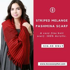 Striped Melange Pashmina Scarf exclusively from AccessoryHut!  Get it on: http://ift.tt/2baeIjt  #Accessoryhut #accessories #scarf #scarves #instafashion #fashionable #flatshoes #bagsforsale #authenticbags #luxurybags #fashionblog #streetfashion #highheelshoes #ToteBags #YouCanNeverHaveTooMany