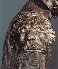 The armor designed during the Renaissance is my absolute favorite... incredible detaining! (A lion encrusted right pauldron c1550.) ~Splendor