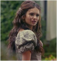 Who are these lazy fucking hairstylists who can't be bothered to do a single hour's worth of research online?  The internet is free and readily accessible.  VICTORIAN WOMEN DID. NOT. HAVE. BEACHY. WAVES.  //Vampire diaries hair Katherine