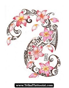 plumeria tattoo images - Google Search