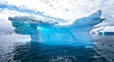 Icerberg photo imprimée sur plexi