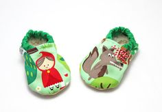 red riding hood baby shoes,