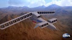 Tecnoneo: DARPA está desarrollando el concepto VTOL X-Plane, para realizar despegues y aterrizajes verticales